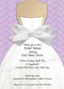 diy bridal shower invitation wording bridal shower invitation lace bow design