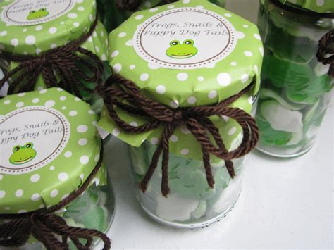 Frog Baby Shower by Diy Frog Favors Stylish Spoon