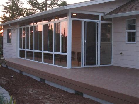 Four Seasons Enclosures Pictures For Oregon Coast Sunrooms In Florence Or 97439