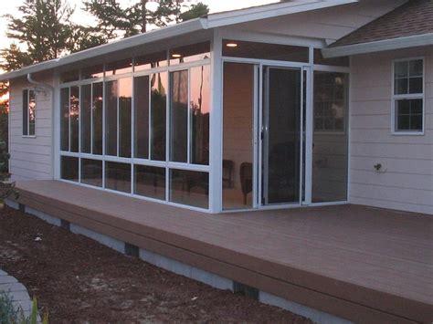 Four Seasons Patio Enclosures Oregon Coast Sunrooms Florence Or 97439 541 902 8847