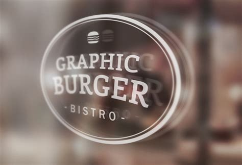 window signage mockup graphicburger