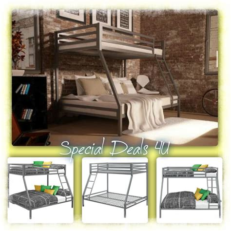 twin  full bunk beds boys girls kids bedroom modern