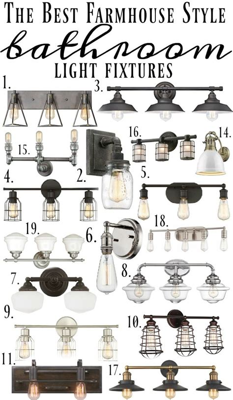 farm style light fixtures farmhouse style bathroom light fixtures liz