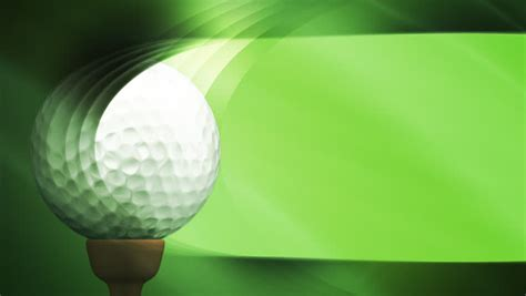 looping golf animated background stock footage video