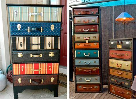 armadio fai da te riciclo 20 idee fai da te con il riciclo delle valigie vintage