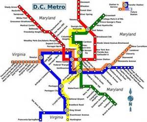 printable metro map washington dc the usa capital world easy guides
