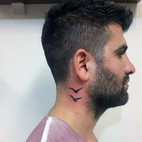tattoo on neck man small male neck tattoos tattoo collections