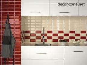 Red Kitchen Backsplash Ideas by 20 Kitchen Backsplash Tile Ideas In Metro Style