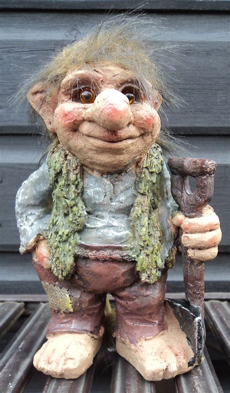 Garden Troll by Novelty Viking Dam Troll Tri Gnome Gift Ornament