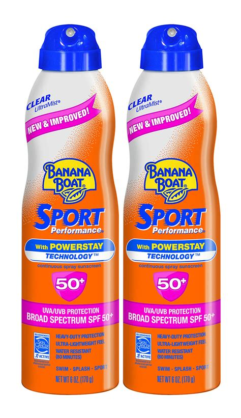 banana boat face stick banana boat sunscreen sport performance broad