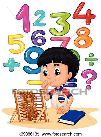 clipart matematica clipart gar 231 on faire math 224 abaque k39386135