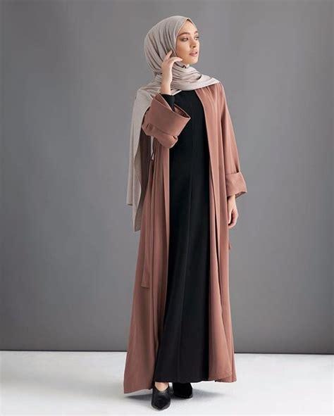 Kimono New Hijaber Style Kekinian Murah 30 stylish abaya designs for 2018 crayon
