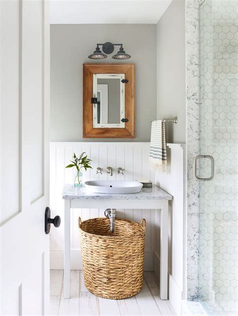 simple bathroom makeovers the country living makeover takeover mindful gray hgtv