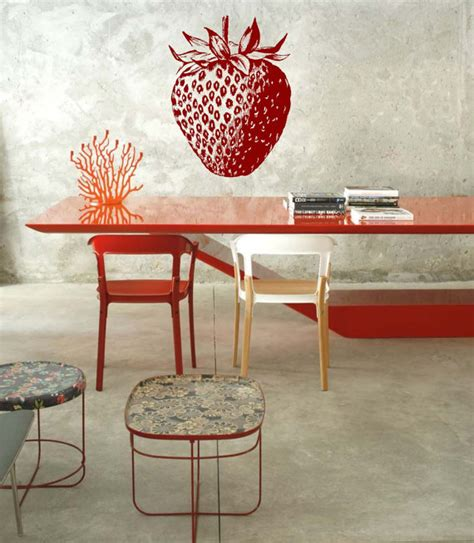 Strawberry Home Decor by Home Decor Decorating With A Strawberry Theme On A Small