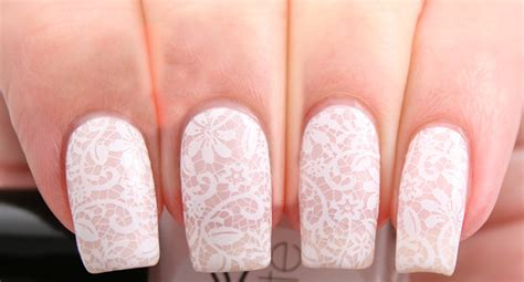 Wedding Dress Nail Color by Wedding Nail Designs Bridal Nail Pictures And Ideas