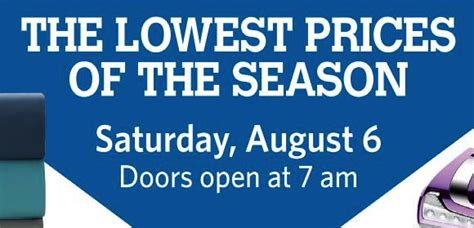 sams club new years hours sam s club s august 6 sale includes black friday prices on