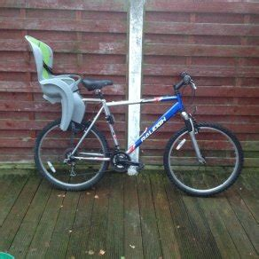 mountain bike child seat mountain bike with child seat for sale in navan road d7