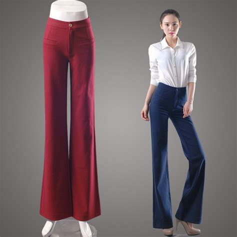 are bell bottom pants still in style 2015 2015 new fashion office style young lady bell bottom pant