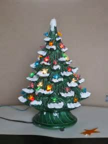vintage ceramic tree with lights vintage ceramic tree electric plastic bird bulbs