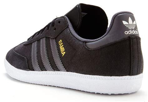 Adidas Samba Vintage Grey Black adidas originals samba suede trainers in black grey