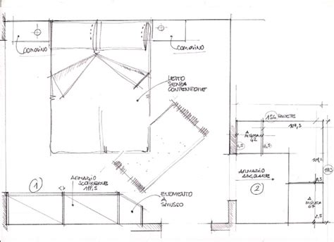 planimetria da letto pianta da letto dragtime for