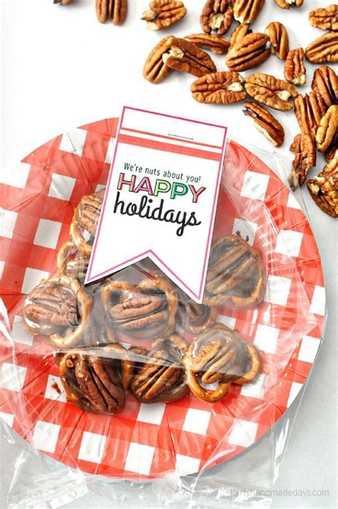 nuts about you holiday gift idea