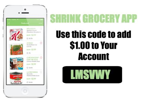 printable grocery coupon apps new shrink grocery app free 2 00 in cashback ftm