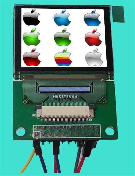 Oled 2828 Color Display Module 1 69 inch color oled display module seps525 drive ic 160 rgb 128 spi interface on