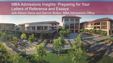 Stanford Mba Tips by Mba Admissions Insights Preparing For Your Letters Of