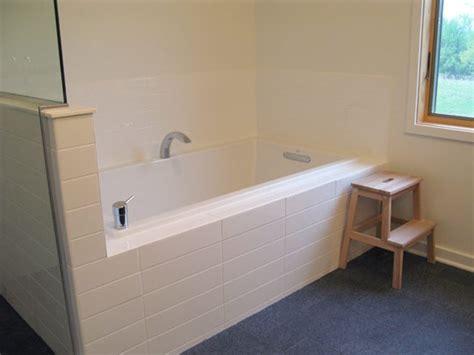 Large Subway Tile Large Subway Tile Bathroom Ideas