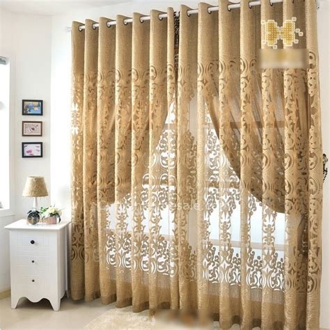 bedroom curtains dark gold european design beautiful bedroom curtains