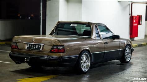 Mercedes W124 Spiral Belakang gettinlow indra sukarno 1989 mercedes w124 300e up