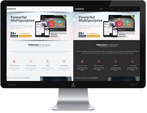 share bootstrap themes and templates atropos