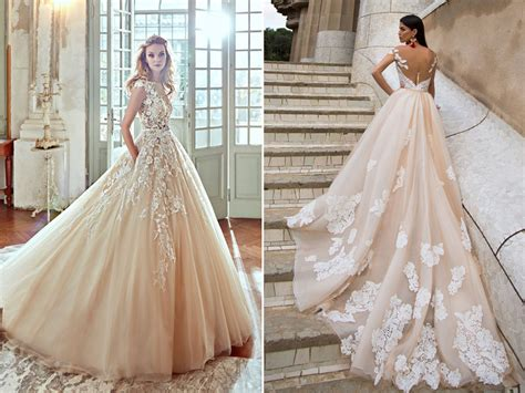 23 Utterly Romantic Wedding Dresses with Snowflake Inspired Lace Details!   Praise Wedding