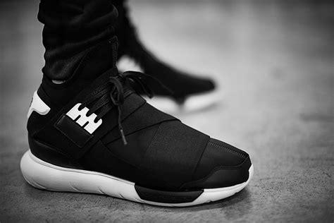 Adidas Y 3 Qasa High Blackwhite Premium High Quality 1 adidas y 3 qasa summer 2015 sole u