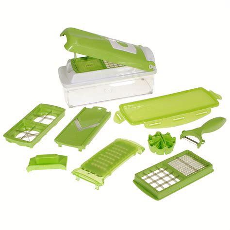 Kitchen Vegetable Fruit Slicers Container Chopper Peeler