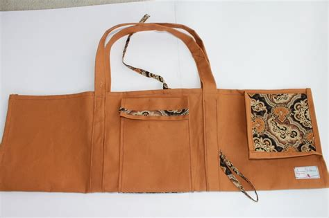 yoga sling bag pattern rust yoga sling bag clever pinterest rust