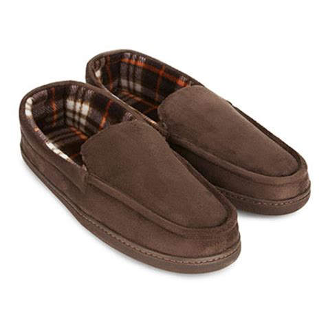 memory foam slippers mens s memory foam slippers big lots