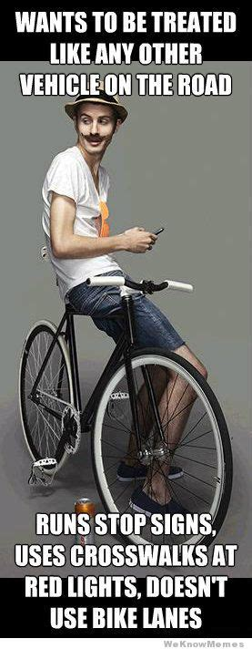 Cycling Memes - scumbag cyclist weknowmemes