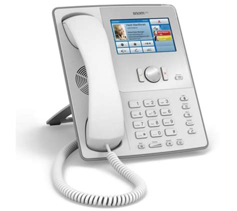 Desk Phone by Snom 870 Voip Desk Phone Has Touchscreen
