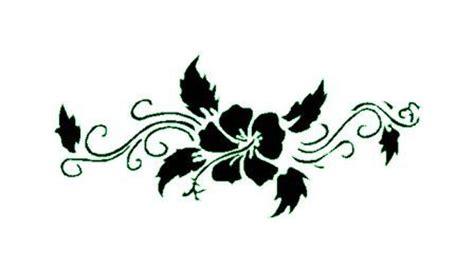 pochoir fleur pour tatouage temporaire unik tattoo
