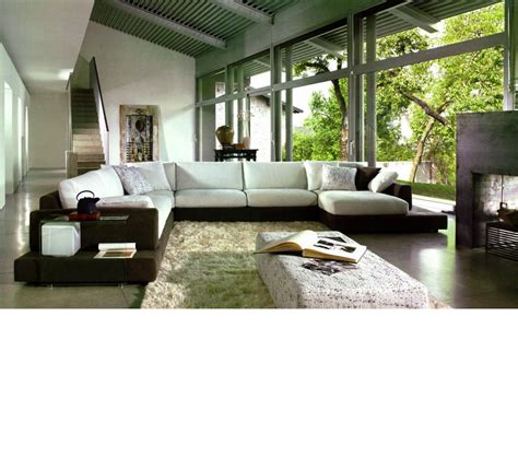 modern fabric furniture dreamfurniture 2616 modern fabric sectional sofa