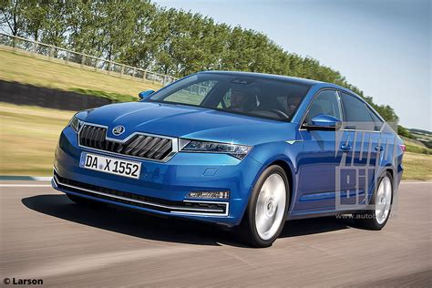 2019 Skoda Octavias next 2019 skoda octavia rendered details revealed