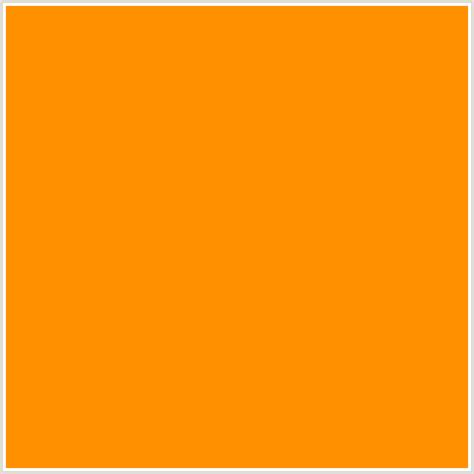 orange html color hex ff9000 hex color rgb 255 144 0 orange pizazz
