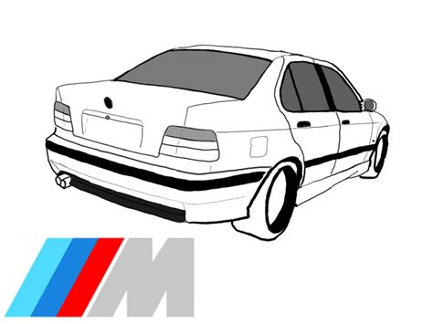 A Cartoon E36