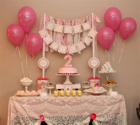 shabby chic birthday party ideas photo 1 of 20 catch
