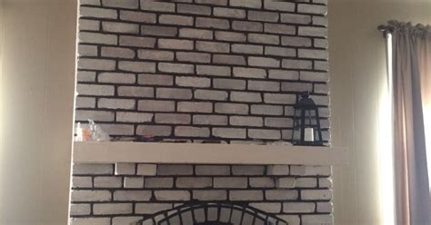 hometalk ideas for white washed help design my white washed brick fireplace mantle hometalk
