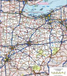 map with highways highway map of ohiofree maps of us