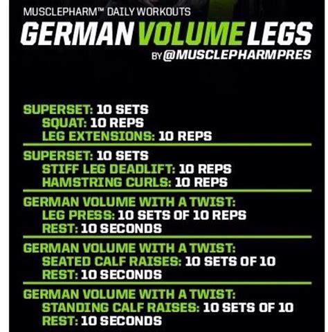 Stylerug by German Volume Training Infographic Stylerug