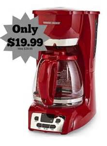 Black & Decker 12 Cup Programmable Coffee Maker only $19.99 (was $39.99)